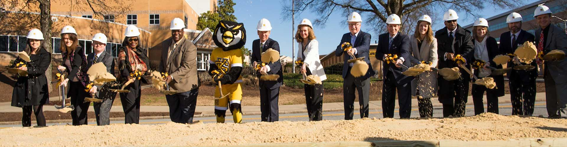 Academic Learning Center Groundbreaking